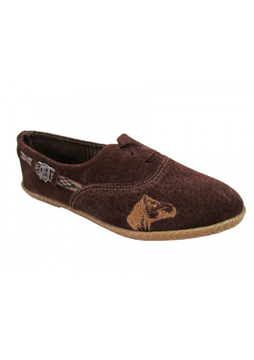 Sapato Campeiro Feminino Bordado