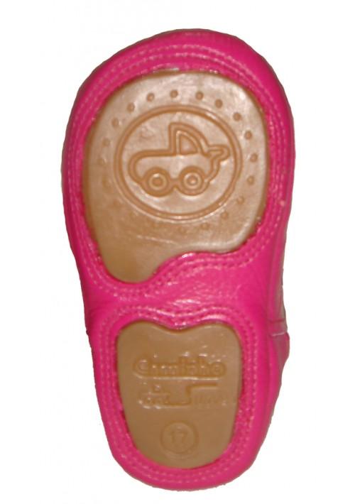 Botina Infantil Caminhos da Roça Rosa