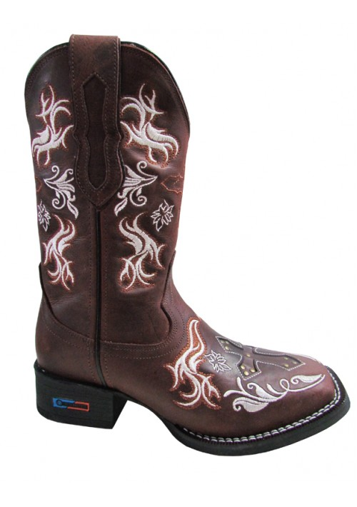 Bota Texana Smith Brothers Feminina Cruz