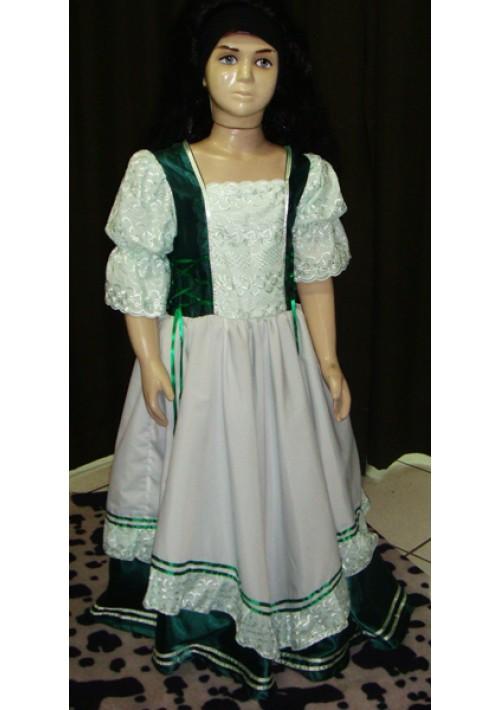 Vestido de Prenda infantil Verde com Verde claro