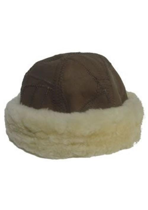 Gorro Lã Carneiro Marrom