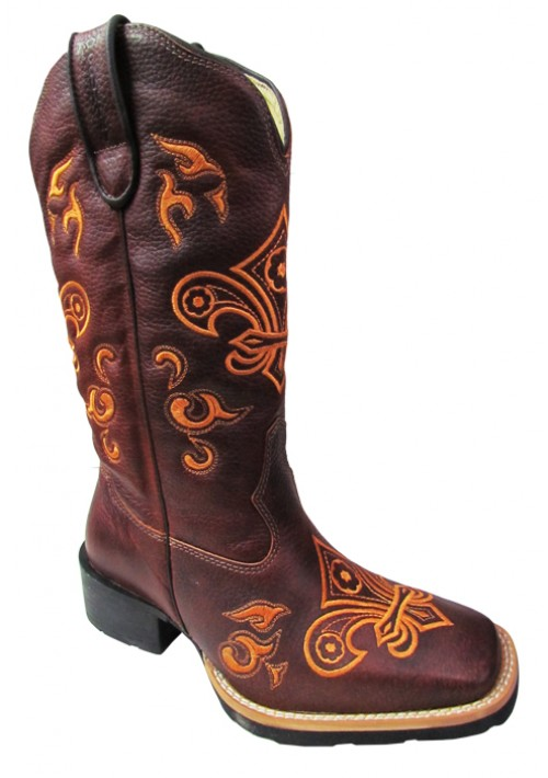 Bota Texana Top Country Havana/caqui